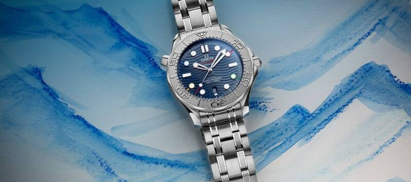 """Introducing the Omega Seamaster Diver 300M """"Beijing 2022"""" Special Edition"""