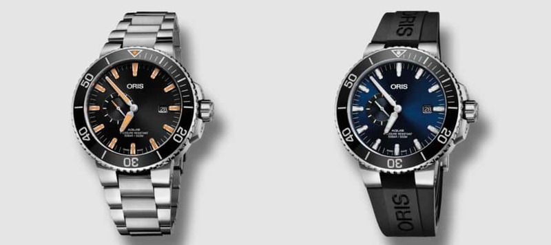 Introducing the Oris Aquis Small Second Date