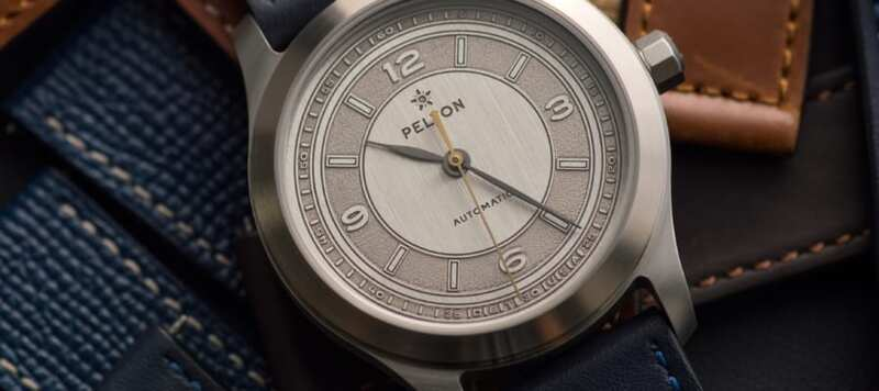 Introducing the Pelton Sector Nickel Silver LE, with an American-Made Case and Dial