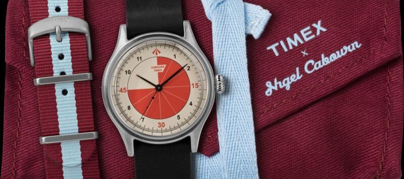 Introducing the Referee Watch from Timex and Nigel Cabourn