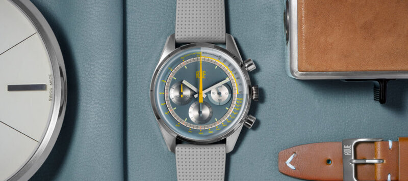 Introducing the Roue TPS Collection of Racing-Inspired Sports Chronographs