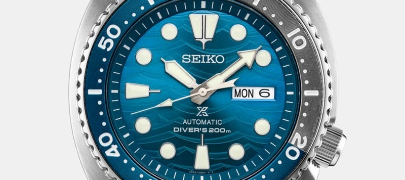 """Introducing the Seiko """"Save the Ocean"""" Turtle Ref. SRPD21 and Samurai Ref. SRPD23"""