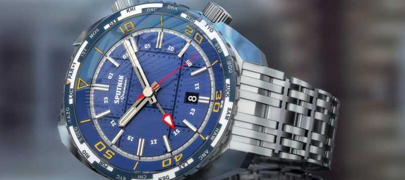 Introducing the Sputnik from Gruman Watches