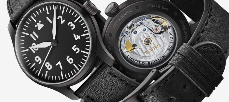 Introducing the Stowa Flieger Verus and Antea 1919 Black Forest Editions