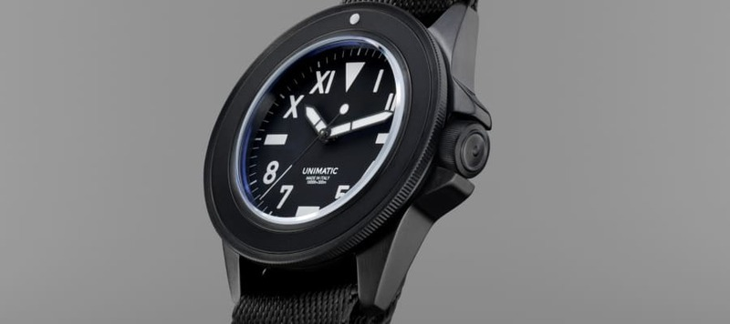 Introducing the Unimatic X NOUS U1-NU, a Stealthy and Minimalist Dive Watch