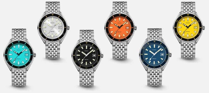 Introducing the new Doxa Sub 200 Collection
