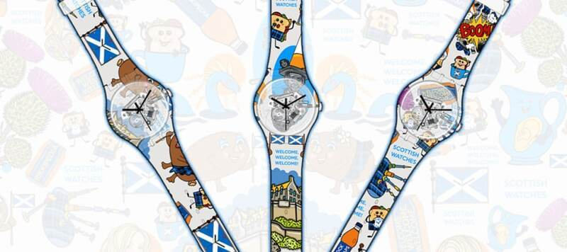 Make Yourself A Scottish Watches SWATCH Watch