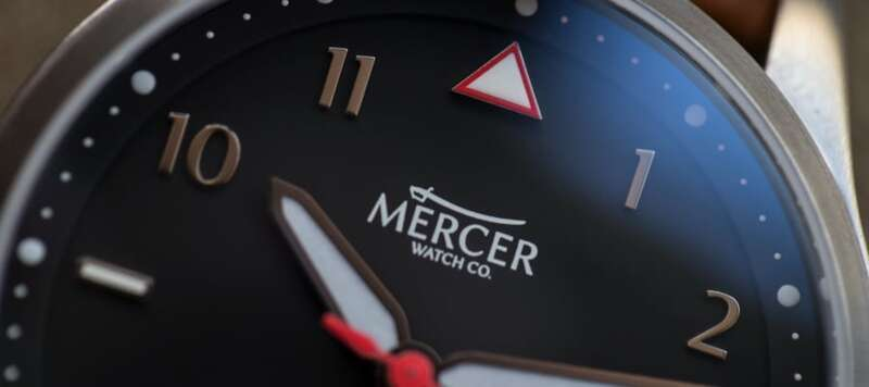 Mercer Watch Co. Airfoil Video Review