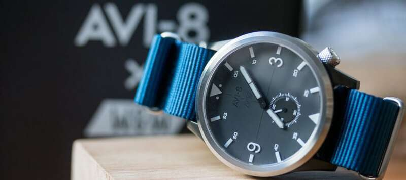 Military-Inspired—the Avi-8 x Worn & Wound Edition 2 Watch in the Worn & Wound Shop