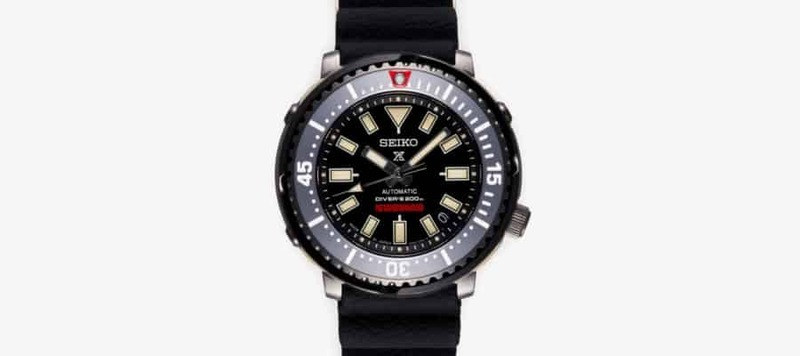 NEIGHBORHOOD and Seiko Team Up For Limited Edition Prospex Diver