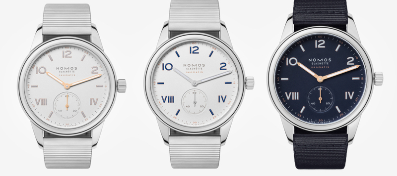 Nomos Unveils the Club Campus neomatik Collection and a New Steel Bracelet