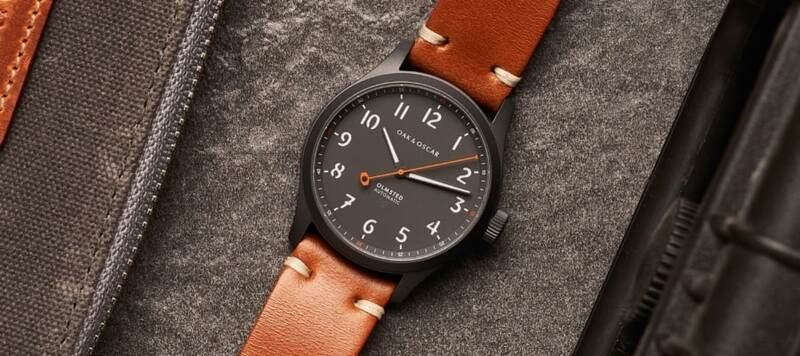 Oak & Oscar Introduce the Olmsted Matte, with a Sleek Ceramic Coated Case