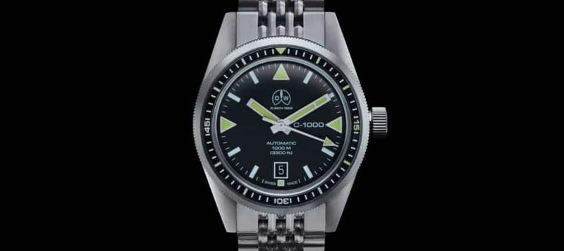 Ollech & Wajs Revive a 1000M Icon with the C-1000 Diver