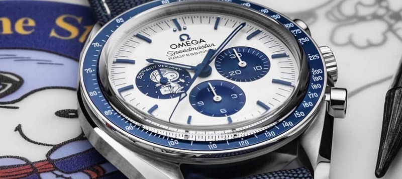 Omega launches the New Silver Snoopy Speedmaster