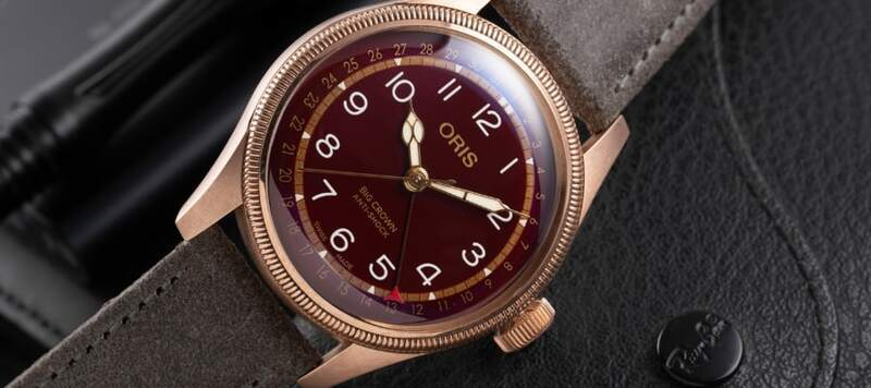 Oris and Fratello Team Up for a Limited Edition Pointer Date in Stunning Red and Bronze