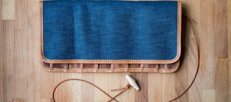 Product Highlight: The Selvage Denim Watch Roll