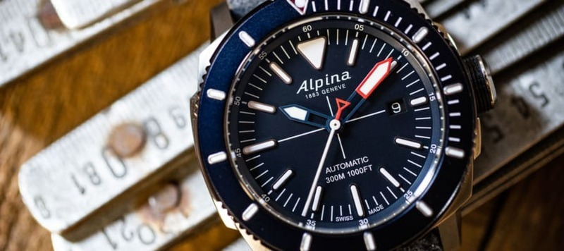 Pulling From Its Past, Alpina Dives Deep with the  Seastrong Diver 300