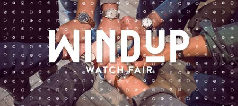 Save the Date: Windup Watch Fair NYC 2018