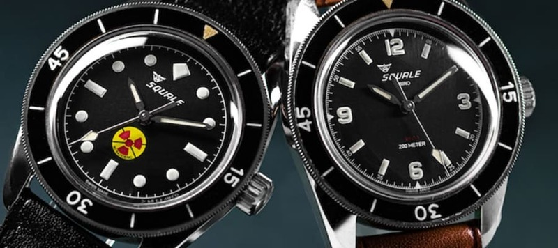 Squale Teams up with Amsterdam Watch Company for a Unique Limited Edition Using Vintage Cases