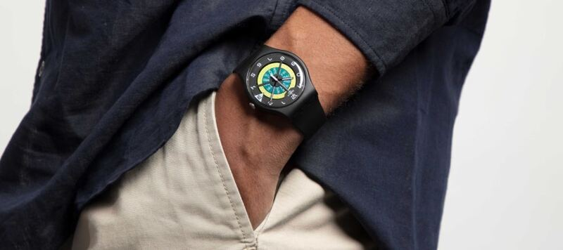 Swatch Introduces Three New Watches With Laser Cut Dials and Fun Color Combinations