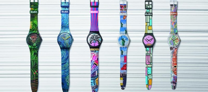 Swatch Partners with MoMA on a New Collection Inspired by Great Modern Art
