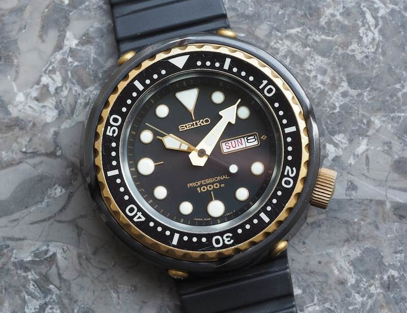 #TBT Going Hands-on With the Seiko 7C46 Golden Tuna