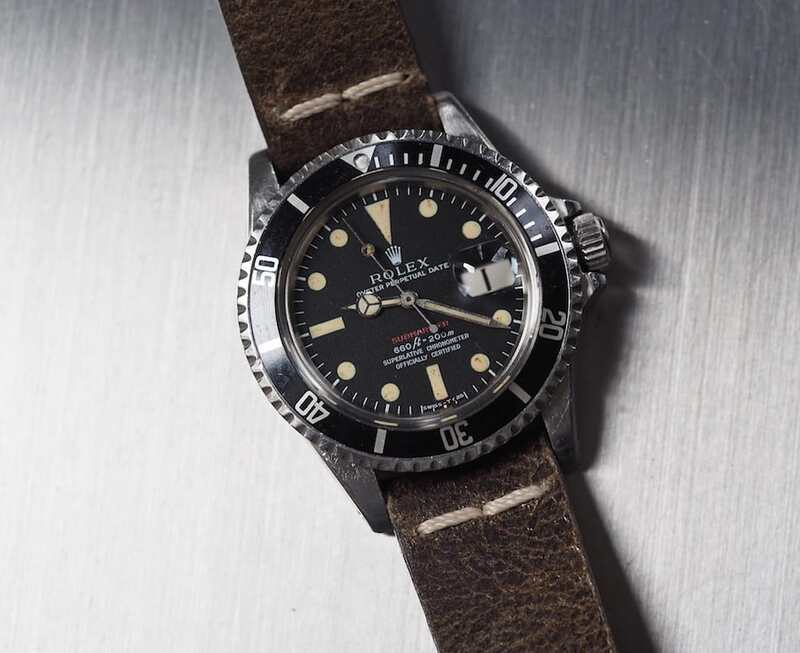 #TBT The Rolex Red Submariner 1680 – The First Sub with a Date