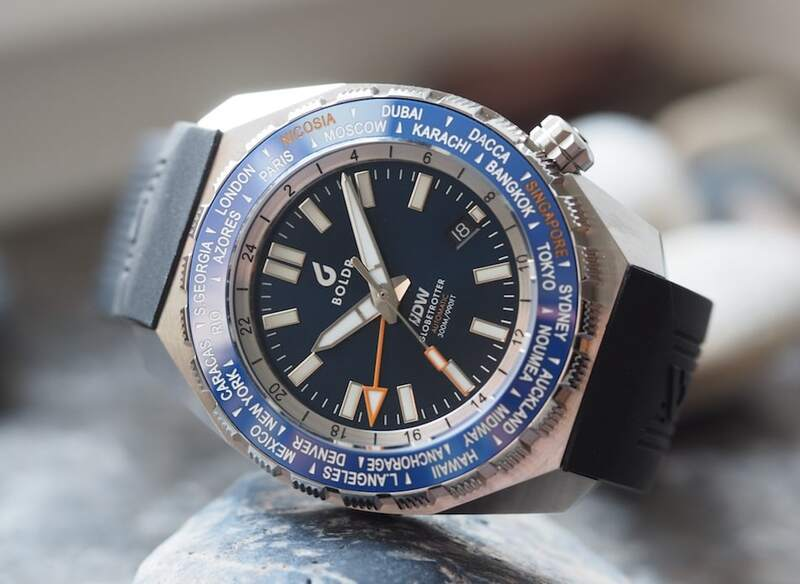 The BOLDR Globetrotter GMT – The Latest Diver's Watches Facebook Group Collaboration