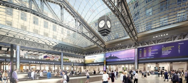 The New Moynihan Train Hall, and the Art Deco Clock at the Center of It
