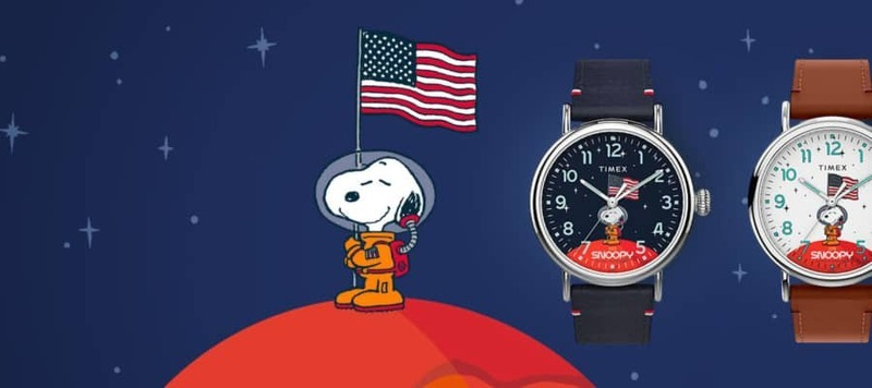 Timex Celebrates the 50th Anniversary of the Moon Landing with the Snoopy in Space Collection