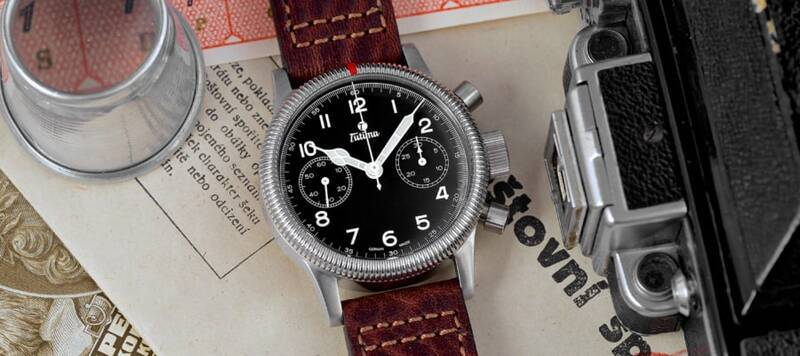 Tutima's New Chronograph is a Celebration of the Flieger Friday Hashtag and a Modern Reinterpretation of a Classic