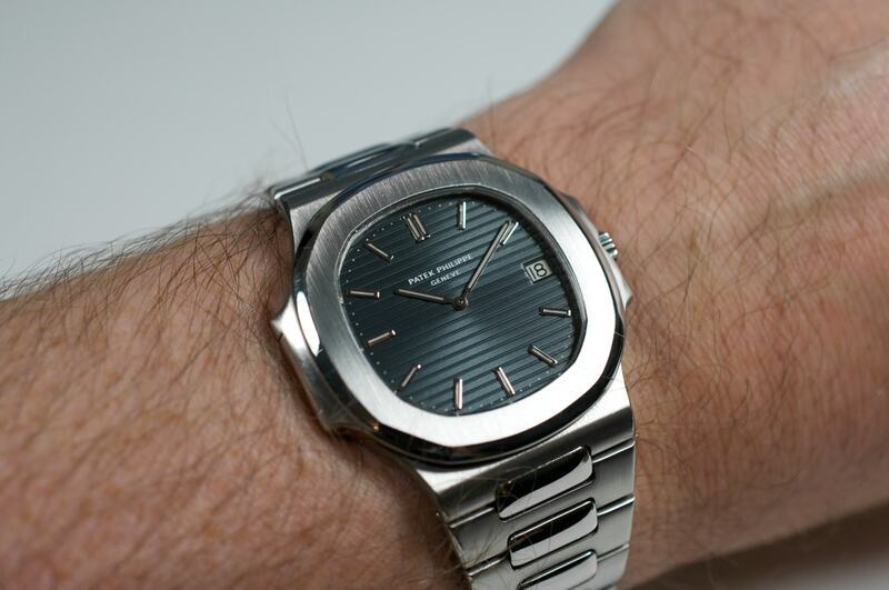 Two Patek Philippe Nautilus Watches: 3700/1A Versus 5711/1A