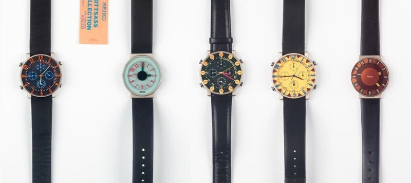 Up for Auction, Ultra-Rare Seikos by Italian Designer Ettore Sottsass