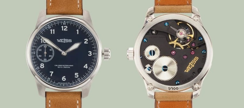 Weiss Watch Goes Aluminum with the American Issue Field Watch Ultralight