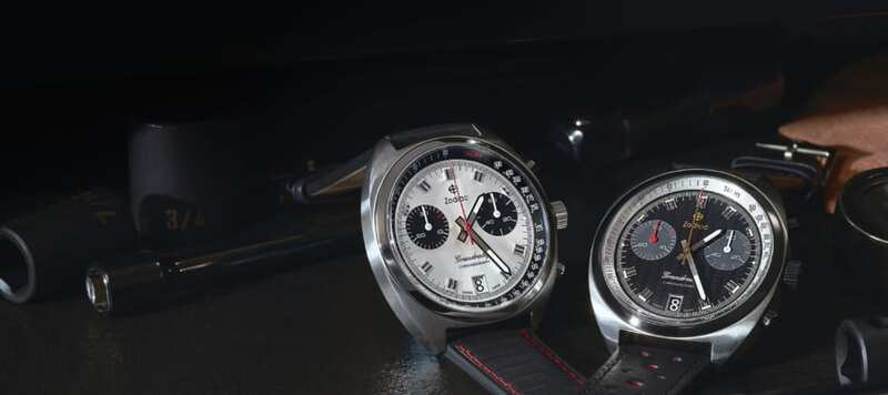 Zodiac Debuts Four New Variants of their Grandrally Chronograph