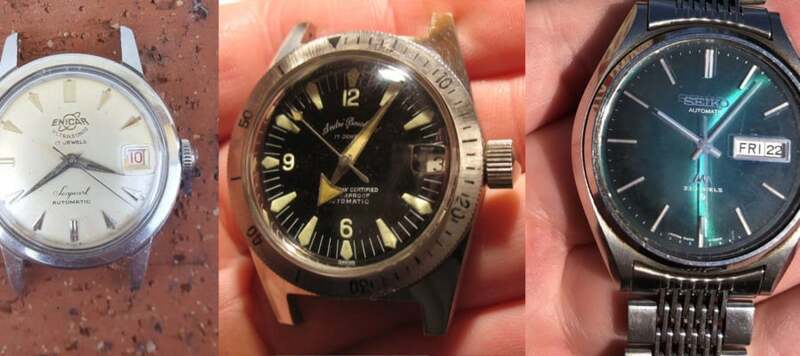 eBay Finds: Enicar Seapearl Automatic, André Bouchard Skindiver by Alstater Watch Co., and More