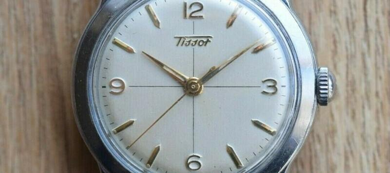 eBay Finds: Enicar Sherpa Diver 600 (NOS), 1950s Tissot Dress Watch with Crosshair Dial, and More