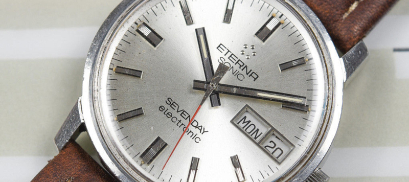 eBay Finds: Eterna Sonic Sevenday Tuning Fork, Seiko SUMO, and More