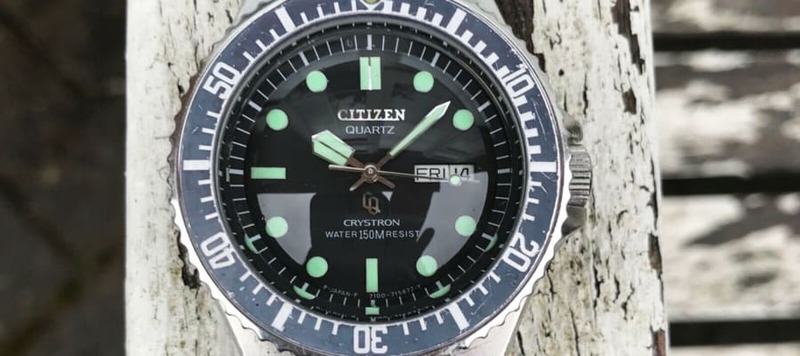 eBay Finds: Universal Genève Polerouter, Citizen Crystron Diver, and More